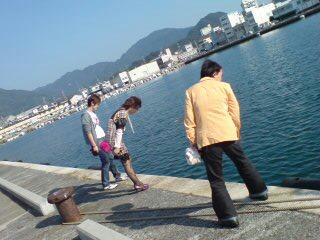 今日は静岡にいます。